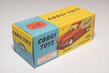 # 1:43 CORGI TOYS 316 ORIGINAL EMPTY BOX NSU SPORT PRINZ NEAR MINT CONDITION