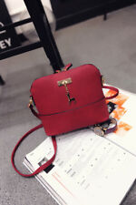Reindeer Chain Leather Sling Bag (Red)