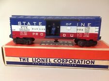 Lionel No. 3493-275 State of Maine Operating Boxcar 1956