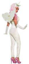 White Unicorn Leggings Mythical Creature Cosplay Soft Velvety Adult Women's OS
