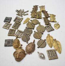 Beads Assorted Africa Naga Brass Pendant Beads 15-38mm