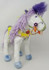 """Groovy Girls 14"""" Horse White Plush by the Manhattan Toy Company"""