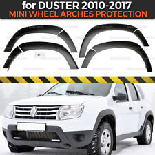 Wheel Arch Protection for Dacia / Renault Duster 2010-2017 plastic ABS body kit