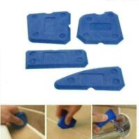4pcs Caulking Tool Kit Dichtungsmittel Silikon Fugenentfernung Finishing & Y7B7
