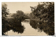 Pittsford, Vt Otter Creek Real Photo Postcard 1916 Vermont