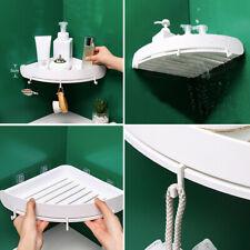 Bathroom Triangular Shower Shelf Corner Bath Storage Holder Organizer Rack New