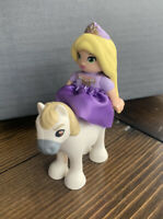 Lego Duplo Rapunzel Disney Princess Girl Minifig Figure With Horse 10878