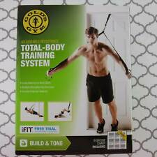 Gold's Gym Total Body Training System Resistance Adjustable Band