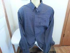 Columbia Vertex 2 tone blue plaid long sleeve button down - mens XL