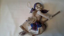 Home Decor Doll Kinds Toy Hand Made Baba Yaga