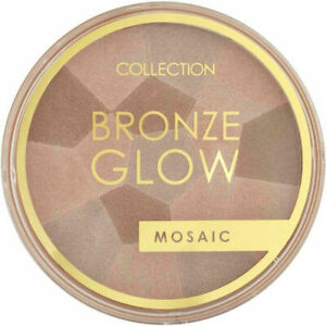 COLLECTION Bronze Glow Mosaic Bronzer Shade: 2 Radiant - Shimmering Highlighter