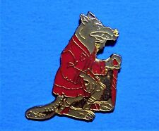 TEENAGE MUTANT NINJA TURTLES - SPLINTER - THE RAT - VINTAGE 1989 MIRAGE PIN - #B