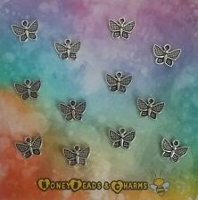 ❤ Butterfly Charms ❤ Pack of 12 ❤ CRAFTING/JEWELLERY MAKING ❤