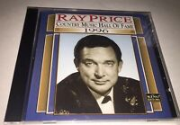 New Sealed Ray Price Hall Of Fame Cd Country