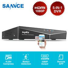Sannce 8Ch 1080N Tvi Dvr Video Recorder H.264 Hdmi for Home Surveillance System