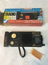 Dynamo & Solar Radio Receiver/Nippon/Black/ comes with box
