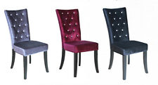 Velvet Dining Chairs with 1 Pieces