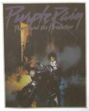 Vintage Purple Rain Prince and the Revolution Iron On Transfer Nos