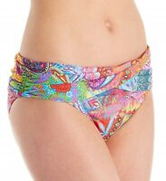 Bleu Rod Beattie 166846 Womens Hipster Bikini Bottom Swimwear Multi Size 8