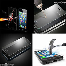 2X 100% GENUINE TEMPERED GLASS FILM SCREEN PROTECTOR FOR  APPLE IPHONE 5 & 5S