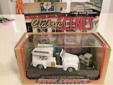 Road Champs 1953 Chevrolet Good Humor Truck 1:43 Scale Classics Scenes White Dog