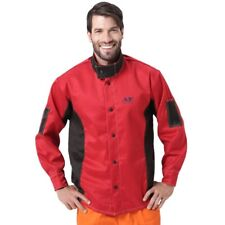 Welding Jacket Flame Heat Abrasion Resistant Working Cloths Flame Retardant