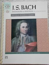 Bach 2 & 3 Part Inventions Piano Edited Palmer Unmarked