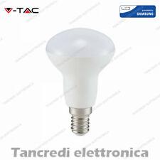 Lampadina led VTAC 6W 40W E14 bianco caldo 3000K VT-250 R50 faretto spot samsung