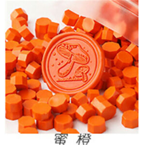 20/Octagon Fire paint wax beads Sealed lacquer seal envelope decoration stamp W2