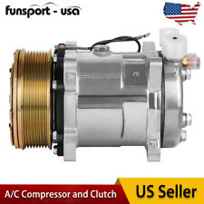 CO 9537C AC Compressor and A/C Clutch Replaces fit for Sanden SD508 O Ring