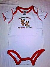 Tender Kisses Baby Size 6-12 Months Christmas Reindeer Body Suit Boy Girl Unisex