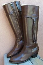 ARIAT Womens Western Fashion Boots Brown Leather Tasseled Equestrian Sz Size 6B
