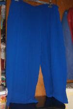 Ensemble pantalon T.8/chemisier T.6 JEAN-MARC PHILIPPE - bleu dur- TRES BON ETAT