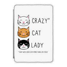 "Crazy Cat Lady Case Cover for Kindle 6"" E-reader - Funny Kitten"