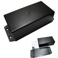 157x70x45mm Small Project Box Black ABS Plastic Enclosure For Electronic Circuit