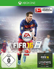 FIFA 16 Ultimate Team Xbox One Neu+in Folie