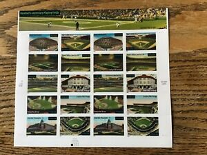 Baseball's Legendary Playing Fields Postage Stamps - 34 cents 20/sheet 2000