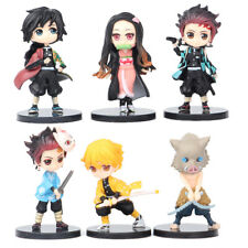 More details for demon slayer: kimetsu no yaiba hashibira inosuke 6 pcs action figure kids toy