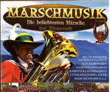 3CD Box Die beliebtesten Märsche der Blasmusik,Titelliste 2. Foto,CD`s Neuwertig