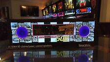 Indianapolis 500 i500 - Lighted Pinball Colored LED Speaker Panel - ULTIMATE