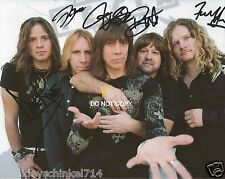 "Tesla band Reprint Signed 8x10"" Photo #2 RP Autographed Jeff Keith + band"