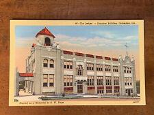 Georgia GA, Columbus, The Ledger, Enquirer Building, Curteich, ca 1940