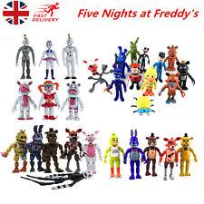 FNAF Five Nights at Freddy's Action Figures LED Light PVC Toy Decor Kids Gift UK