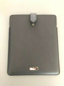 """VALENTINO Black Leather case cover for IPAD 9.7"""", Tablet, NEW"""