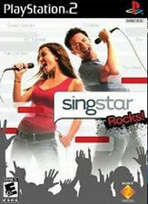 New Sealed - SINGSTAR ROCKS - Playstation 2 - PS2 - Free US Shipping