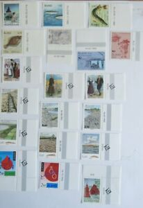 Briefmarken Aland Block, Heftchen und Marken postfrisch 2 Seiten