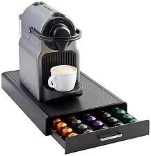 Nespresso Pod Storage Drawer 50 Capsule Capacity Coffee Holder Pack Organizer