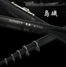 "Okuma 14'9"" Iso Tsuri Fishing Rods Sea Rock Fishing Rods Carbon Fiber Telescopic"
