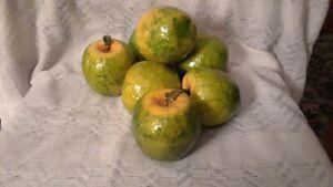 Decorative Faux Apples - 7 pcs