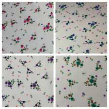 """Apparel - Everyday Clothing Polycotton Floral 45"""" Fabric"""